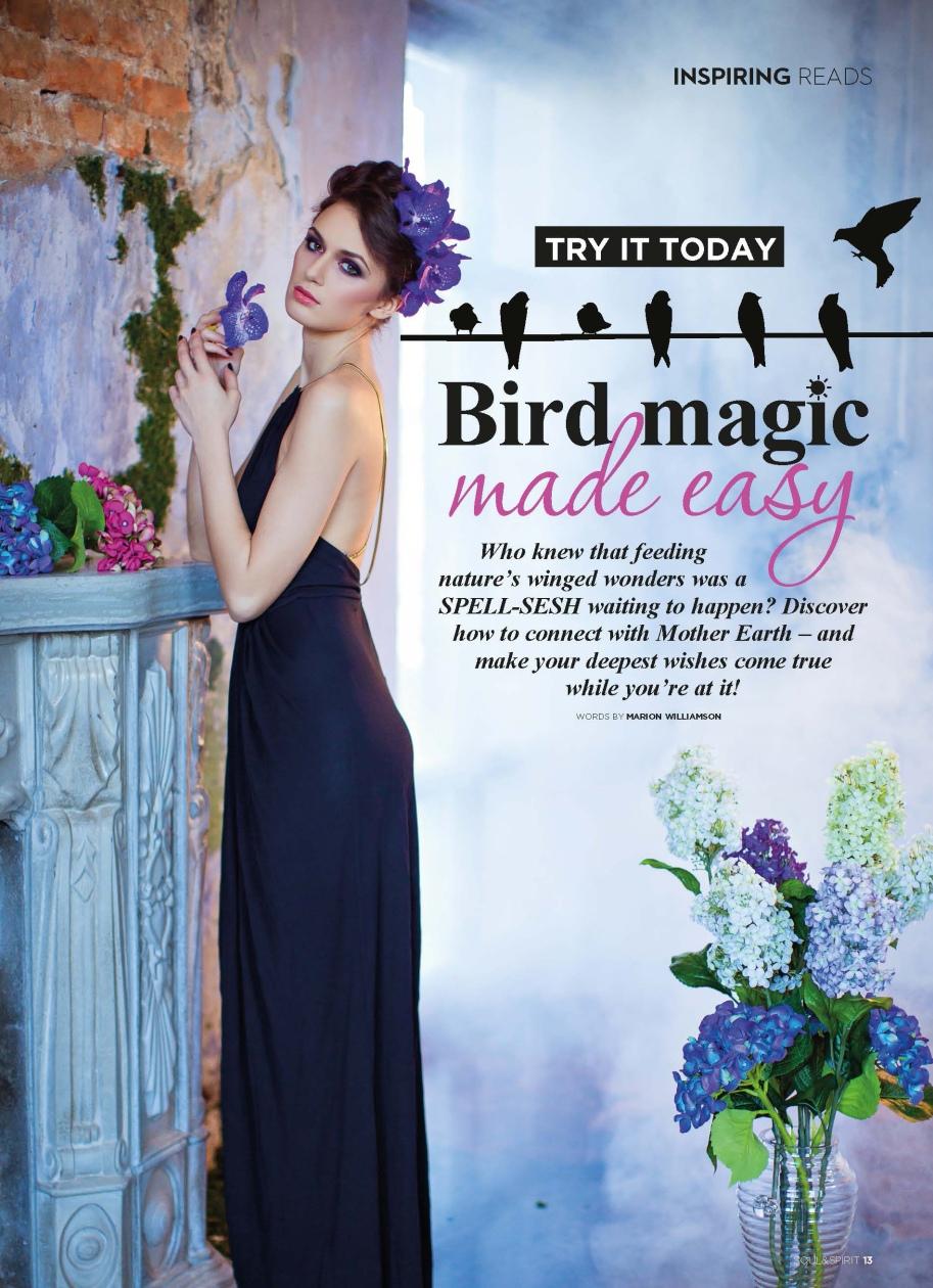 Soul & Spirit November 2015 - Bird magic 1